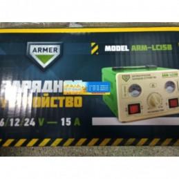 Зарядное устройство 15Amp 6/12/24V ручная регулировка ARMER  ARM-LC15B