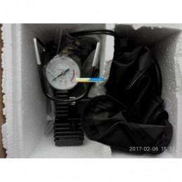 Компрессор 12V 10Атм 38л/мин автостоп прикуриватель+клеммы DK31-002A