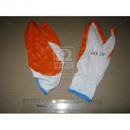 Перчатки рабочие прорезиненные повышенной прочности ДК DK-PR2
