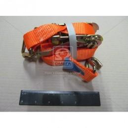 Стяжка груза 1.5t. 27mm.x5m.(0.5+4.5) металлическая ручка DK-3941