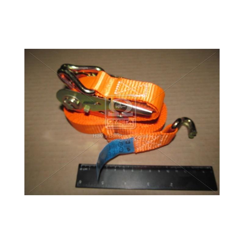 Стяжка груза 1t. 25mm.x6m.(0.5+5.5) металлическая ручка DK-3939