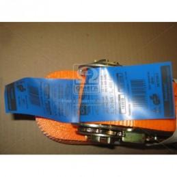 Стяжка груза 3t. 50mm.x10m.(0.5+9.5) пластиковая ручка  DK-3916