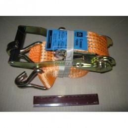 Стяжка груза 3t. 50mm.x6m.(0.5+5.5) пластиковая ручка  DK-3914