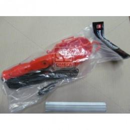 Фонарь переносной прикуриватель+клеммы 5м  DK36-125